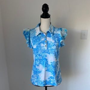 Lilly Pulitzer Luxetic Top / Size Small
